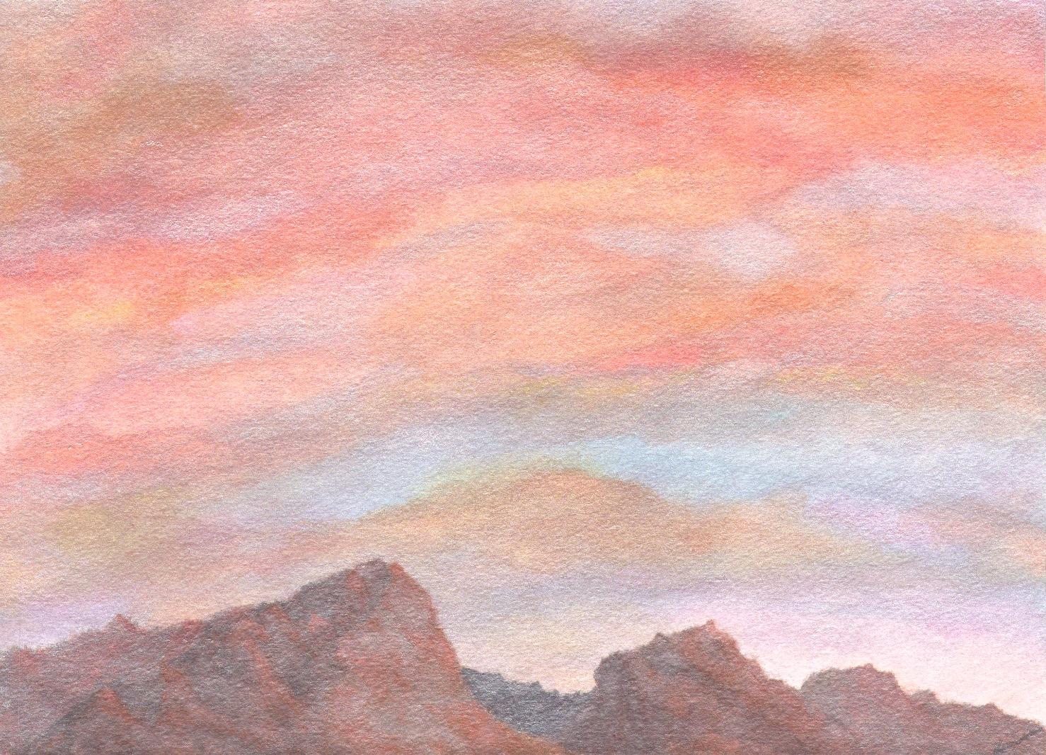 SOLD: Desert Sky