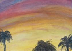 Shimmering Palms