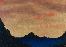 Ocean Gold Sunset