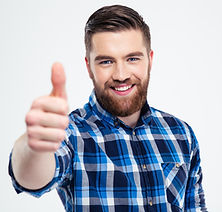 A man giving a thumbs up to being a freemason