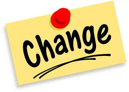 Changed Seminar Dates