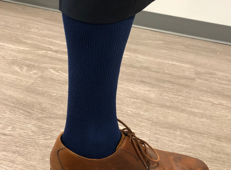 Why Dr. Stahr Wears Tight Socks (And You Should Too).
