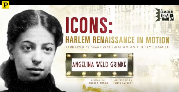 New Play About Angelina Weld Grimké From Classical Theatre of Harlem's ICONS Series