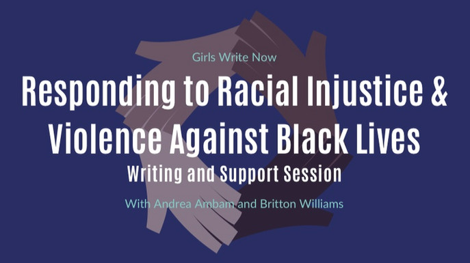 Responding to Racial Injustice & Violence Against Black Lives