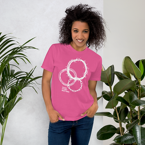 Your Story Matters - Pink T-shirt