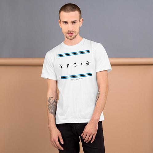 YFC Stripes - White T-shirt