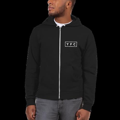 YFC Full-Zip Hoodie - Black