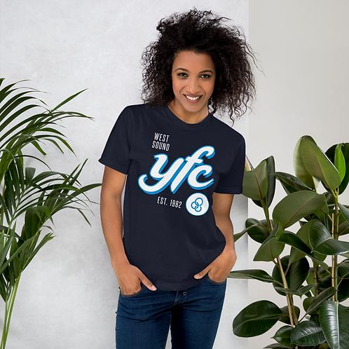 YFC Script - Navy Blue T-shirt