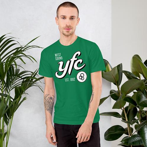 YFC Script - Green T-shirt