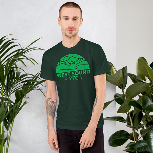 West Sound Lifestyle - Hunter Green T-shirt