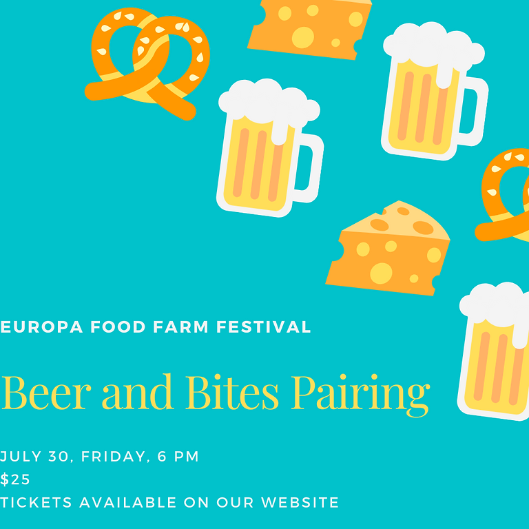 Beer and Bites Pairing