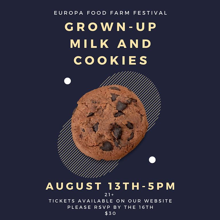 Grown-up Milk and Cookies