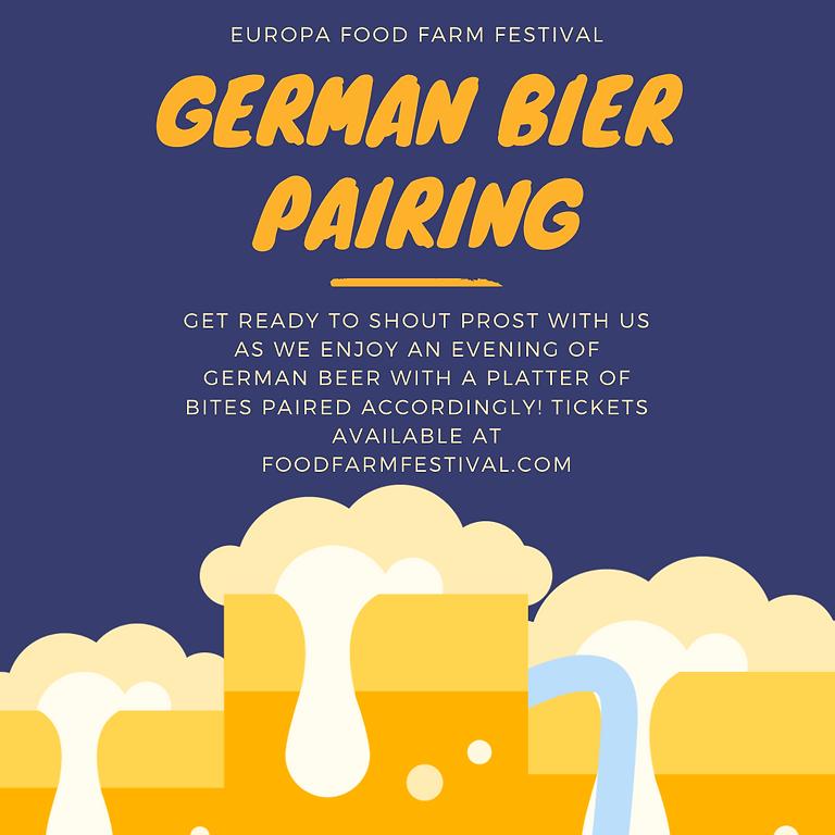 German Bier Pairing