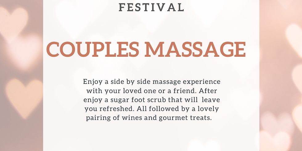 Couples Massage Pairing February 14th (1)