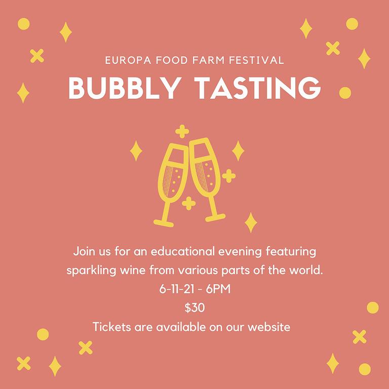 Bubbly Tasting Class