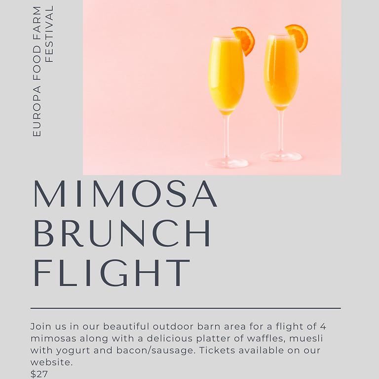 Mimosa Brunch Flight