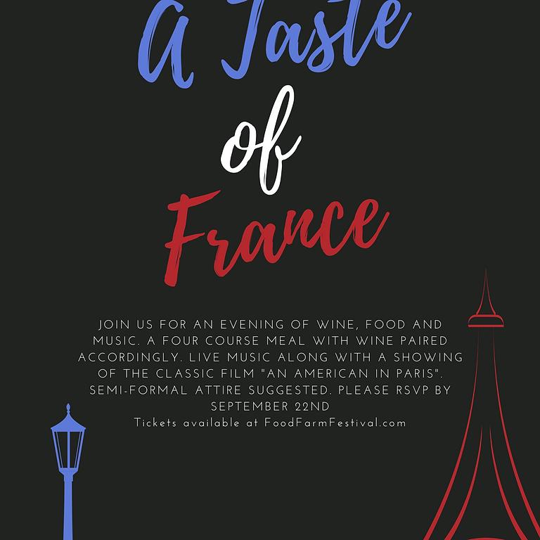 A Taste of France - Wine Add-On