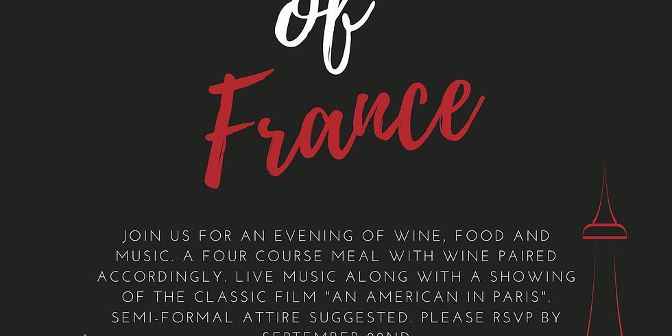 A Taste of France- Dinner Only