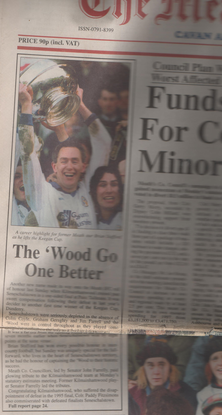 1996 Front of the paper