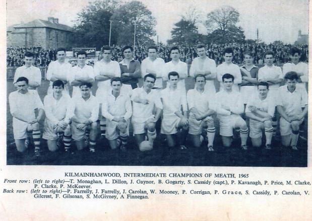 1965 Intermediate Champions