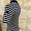 Thumbnail: Top Claudie Pierlot rayé noir et blanc - T1