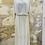 Thumbnail: Robe Des Petits Hauts blanche et dorée - T3