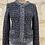 Thumbnail: Gilet Comptoir des Cotonniers gris noir doré 22% laine 8% Mohair TM