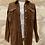 Thumbnail: Lilylovesfashion - Veste Loavies velours marron boutons dorés TS