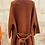 Thumbnail: Gilet Ba&sh grosses mailles marron T1