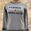 Thumbnail: Sweat-shirt Sézane gris «feminin et masculin» - Txs