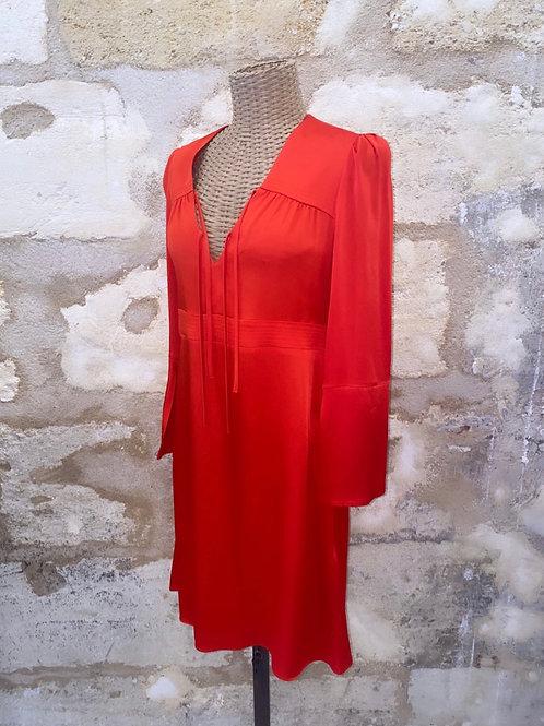 Robe Maje rouge T3