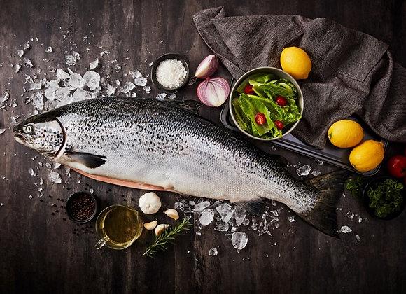 Fresh Salmon (Sashimi Grade) 4-5kg