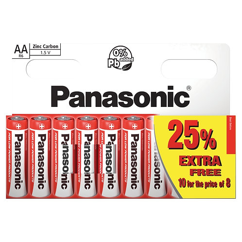 Panasonic AA Batteries 10pk (Box of 20)