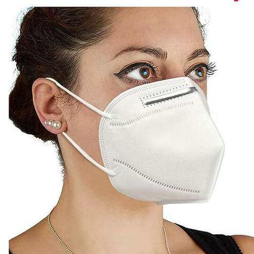 CERTIFIED KN95 FACE MASK (Pack of 5)