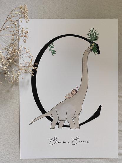 Affiche initiale Diplodocus