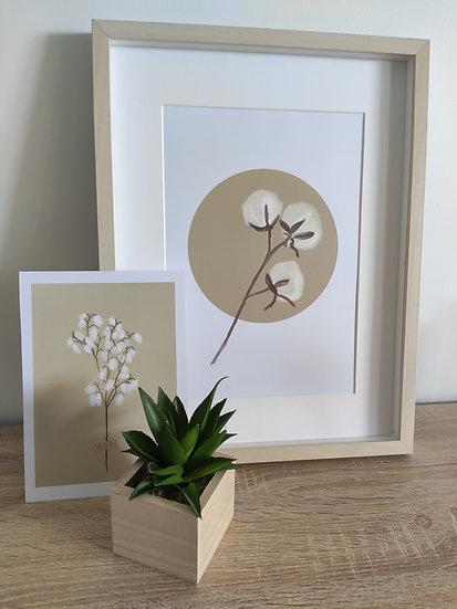 Affiches florales