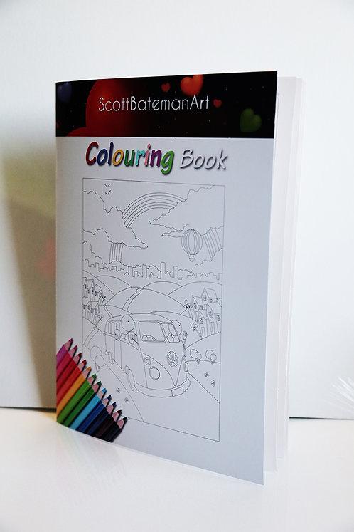Colouring book hard copy