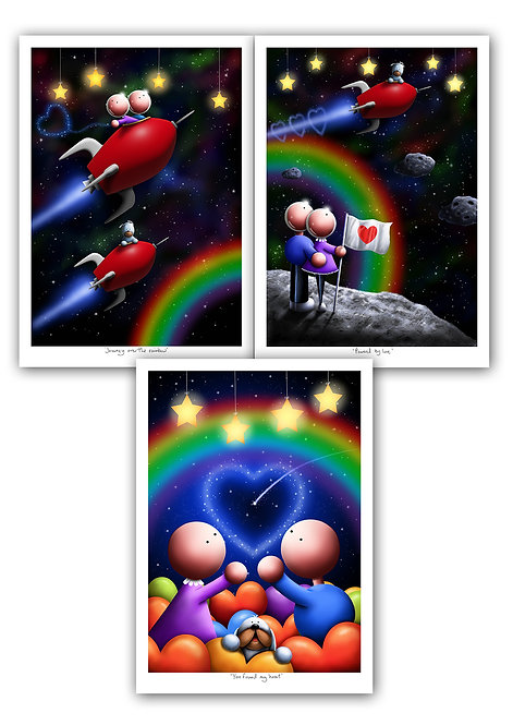 Rainbow Stars complete collection - A3