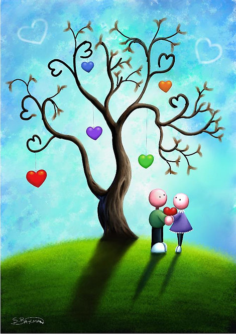 Under the tree of love