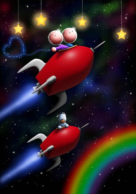 Journey over the rainbow