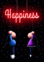 Hang on to happiness