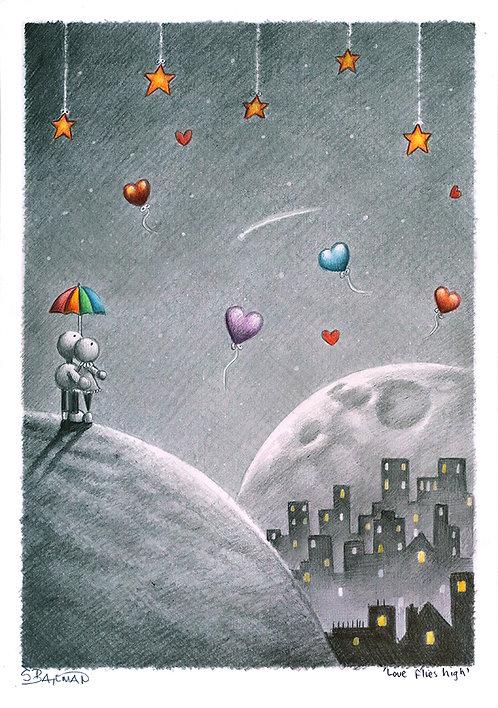 Love flies high