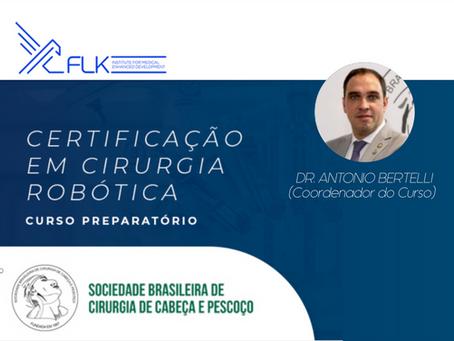Coordenador do Curso Preparatório de Certificação em Cirurgia Robótica