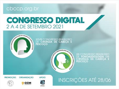 Congresso Digital de Cirurgia de Cabeça e Pescoço