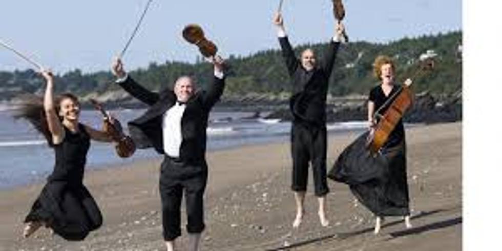 Saint John String Quartet CD Release
