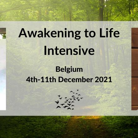 2021 Awakening to Life Intensive - Belgium