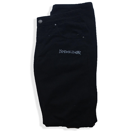 Embroidered CrackSlinger Jeans