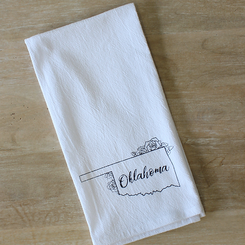 Oklahoma Tea Towel