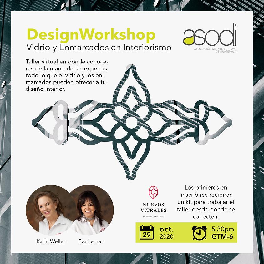 DesignWorkshop | Vidrio y enmarcados en interiorismo