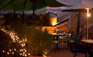 Terrasa del Restaurante Los Tres Tiempos